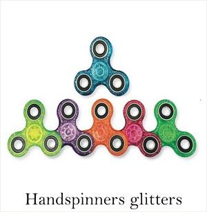 fidget spinners glitters