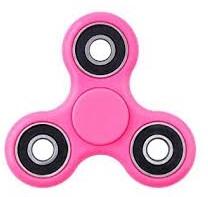 Fidget hand spinner roze