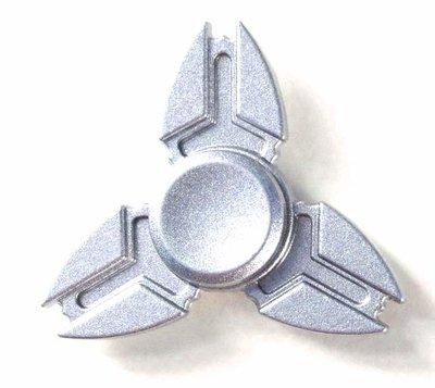Fidget spinner metaal zilver (in luxe doosje)